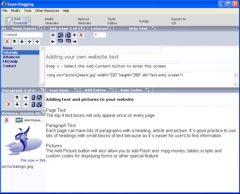 SEO CMS software screenshot